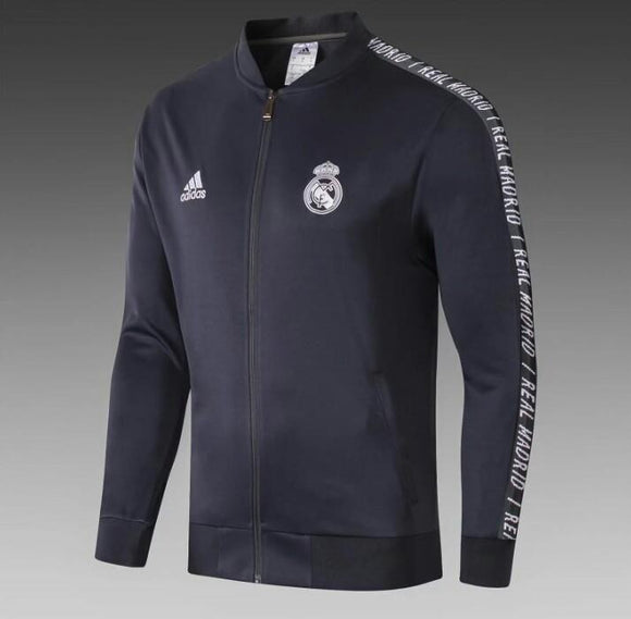 Original Real Madrid Premium Anthem Blue Jacket 2019/20
