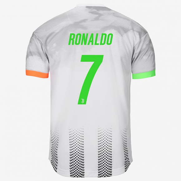 Original Ronaldo Juventus Special Palace Edition 4th Kit Jersey 2019/20 [with Italia logos] [Superior Quality]
