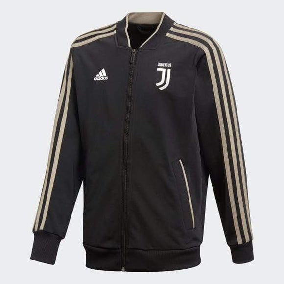 Original Juventus Premium Zipper Black 2018-19