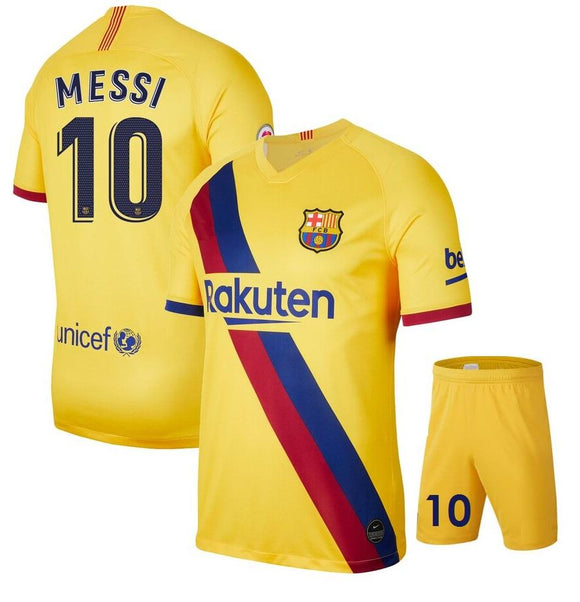 Original Messi Barcelona Premium Away Jersey & Shorts [Optional] 2019/20
