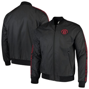 Original Manchester United Anthem Zipper Black & Red Logo 2019/20