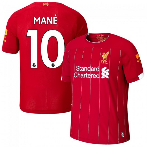 Original Mane Liverpool Home [With Champions League Badges] 19/20 [Superior Quality]