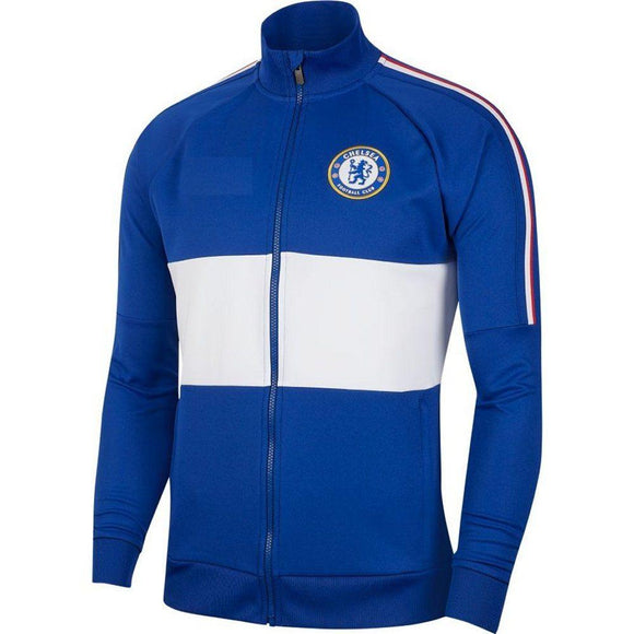 Original Chelsea Premium Home Anthem Jacket Blue& White 2019/20