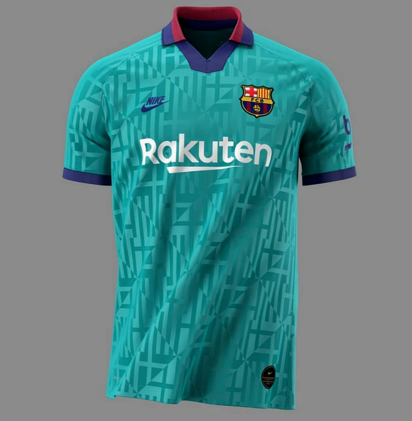 Original Barcelona 3rd Jersey 2019/20 [Superior Quality]