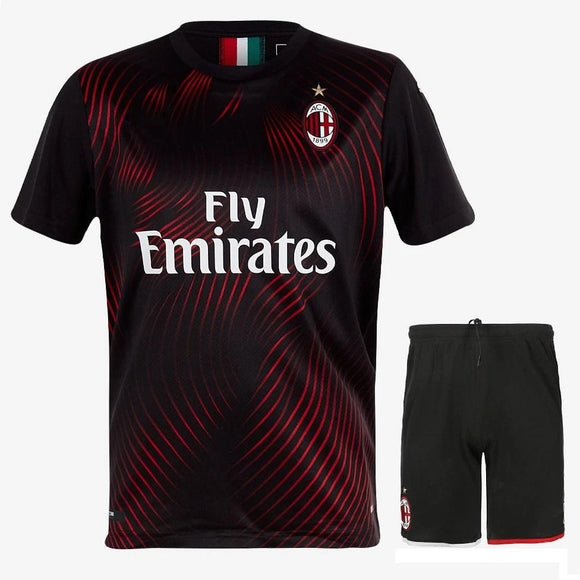 Original AC Milan Premium 3rd Jersey & Shorts [Optional] 2019/20
