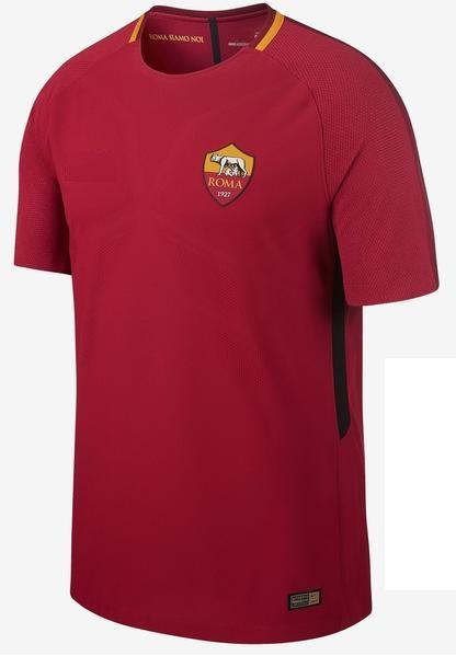 Original AS Roma Premium Home Jersey 2017-18