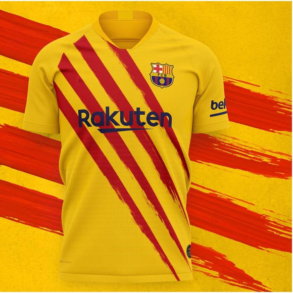 Original Barcelona Yellow Special Edition Jersey [Superior Quality] 2019/20