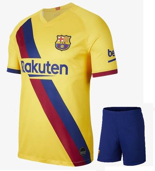 Original Barcelona Premium Away Jersey & Shorts [Optional] 2019/20