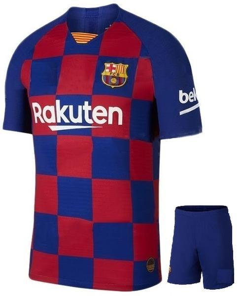 Original Barcelona Premium Home Jersey & Shorts[Optional] 2019/20
