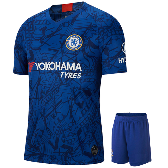 Original Chelsea Premium Home Jersey & Shorts [Optional] 2019/20