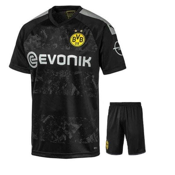 Original Borusia Dortmund Premium Away Jersey & Shorts [Optional] 2019/20