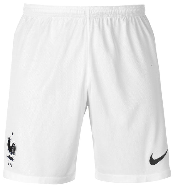 Original World Cup 2018 Champions 2 Star France Premium Home White Shorts