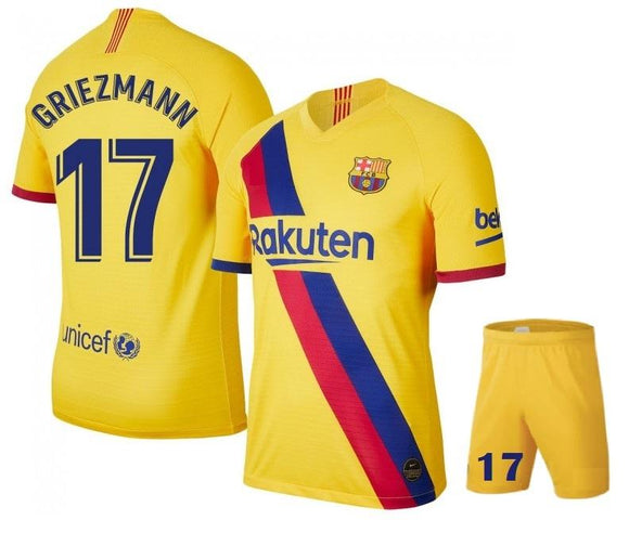 Original Griezmann Barcelona Premium Away Jersey & Shorts [Optional] 2019/20