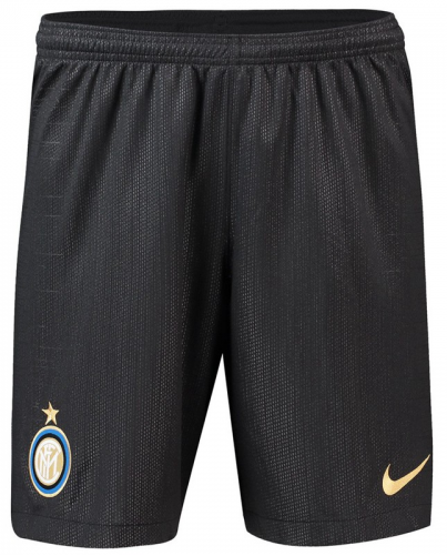 Original Inter Milan Premium Home Black Shorts 2019/20