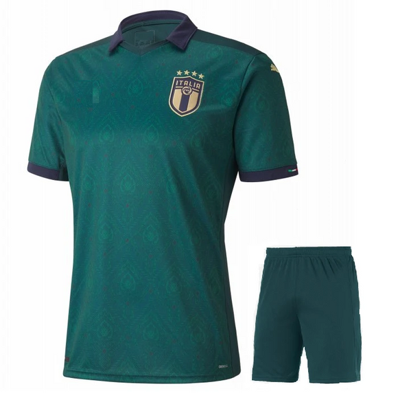 Original Italy International Premium 3rd Jersey & Shorts [Optional] Euro 2020