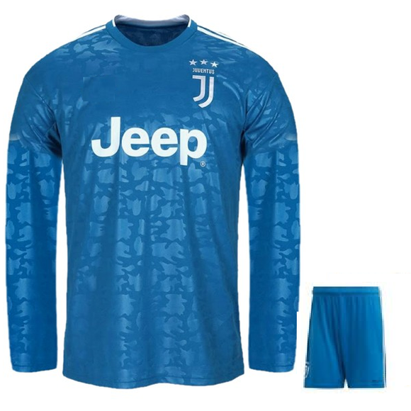 Original Juventus Premium 3rd Full Sleeves Jersey and Shorts [Optional] 2019/20