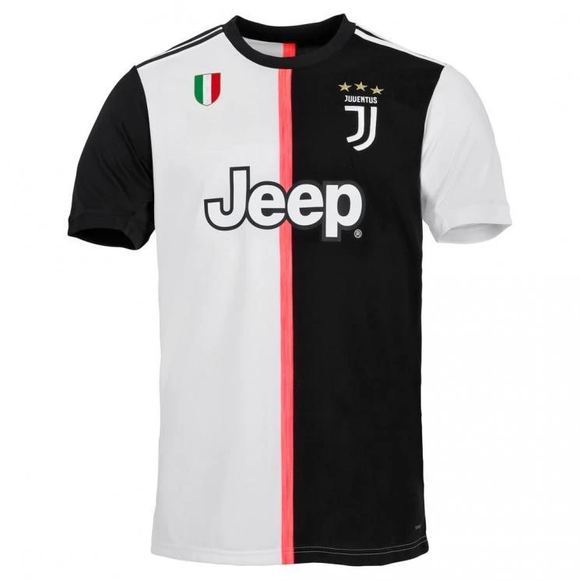 Original Juventus Home Jersey [With Italia Logo] 2019/20 [Superior Quality]