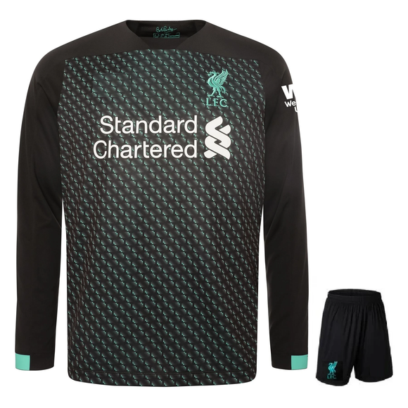 Original Liverpool 3rd Premium Full Sleeve Jersey & Shorts [Optional] 2019/20