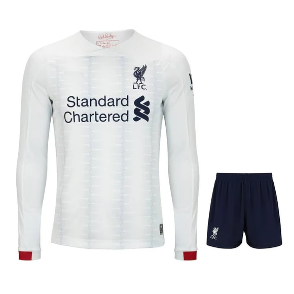 Original Liverpool Away Full Sleeve Jersey & Shorts [Optional] 2019/20