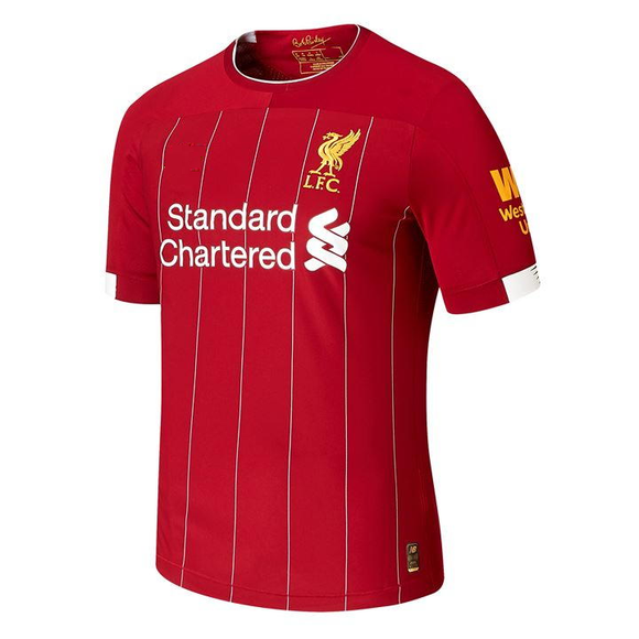 Original Liverpool Home Jersey 2019/20 with Champions League Badge [Superior Quality]