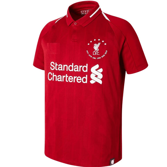 Original Liverpool Home 6 Times UCL Champions Jersey 2018-19 [Superior Quality]