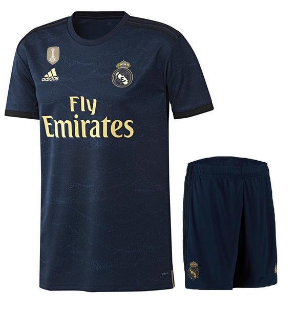 Original Real Madrid Premium Away Jersey & Shorts [Optional] 2019/20