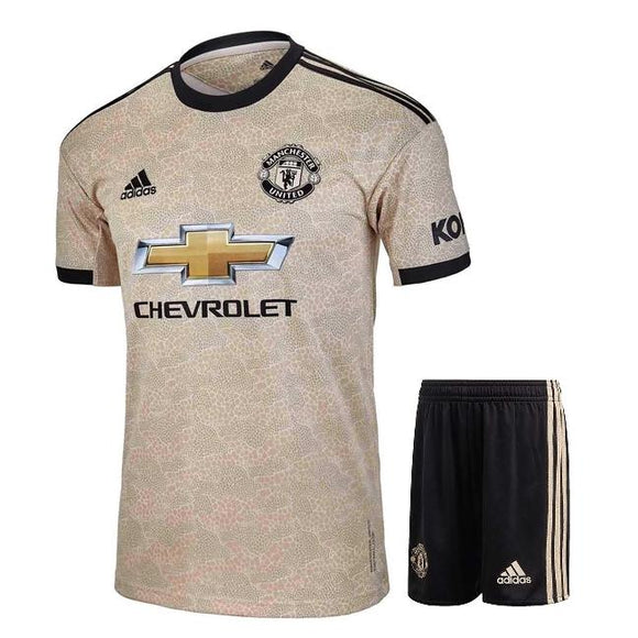 Original Manchester United Away Jersey & Shorts [Optional] 2019/20