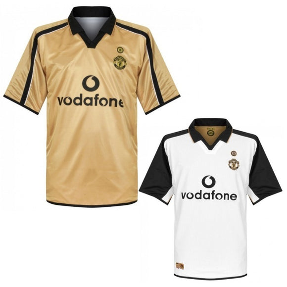 Retro Original Manchester Away Jersey 2001-02 [Superior Quality]