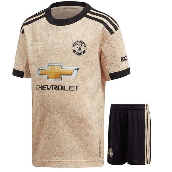 Kids/Youth Original Manchester United Premium Away Jersey & Shorts 2019/20