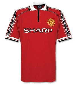 Retro Original Manchester Home Jersey 1998-00 [Superior Quality]