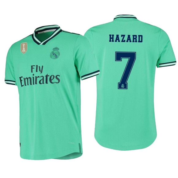 Original Hazard Real Madrid 3rd Jersey 2019/20 [Superior Quality]