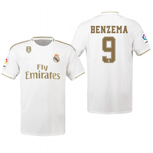 Original Benzema Real Madrid Home Jersey 2019/20 [Superior Quality]