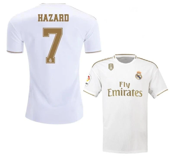 Original Hazard Real Madrid Home Jersey 2019/20 [Superior Quality]