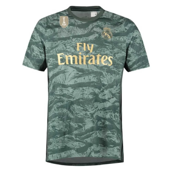 Original Real Madrid Away GoalKeeper Jersey 2019/20 [Superior Quality]