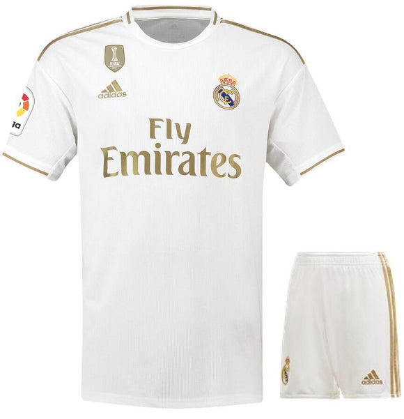 Original Real Madrid Premium Home Jersey & Shorts [Optional] 2019/20