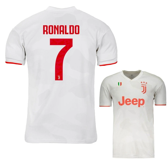 Original Ronaldo Juventus Away Jersey 2019/20 [Superior Quality]