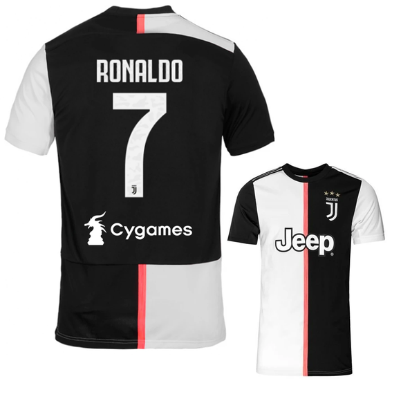 Original Ronaldo Juventus Home Jersey 2019/20 [Champions League] [Superior Quality]