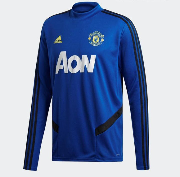 Original Manchester United Premium Track Upper Blue 2019/20