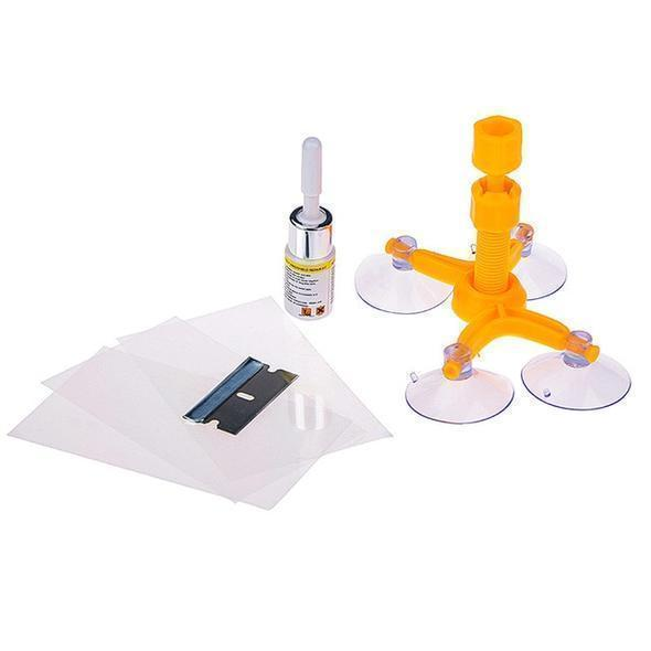 Glass Chip & Scratch Repair Kit