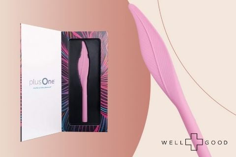This vibrating feather sex toy will tickle every part of you with pleasure