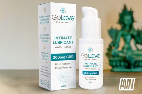 GoLove CBD Naturals bows from Dr. Sadie Allison, husband