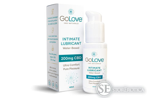 Cannabis sexual wellness company, golove cbd naturals, launches first doctor-formulated & approved water-based cbd intimate lubricant