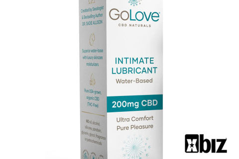 Water-Based Intimate Lubricant GO LOVE CBD NATURALS