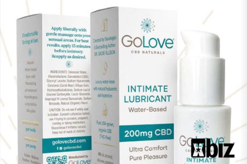Carnal Cannabis. Dr. Sadie Allison launches GoLove CBD Naturals lubricant line