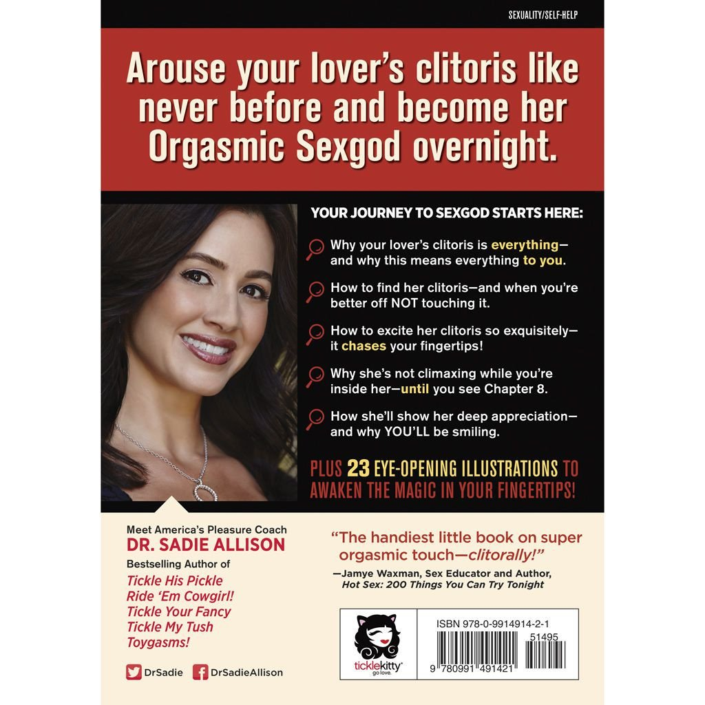 BACK COVER: The Mystery of the UNDERCOVER CLITORIS - Orgasmic Fingertip Touching Every Woman Craves