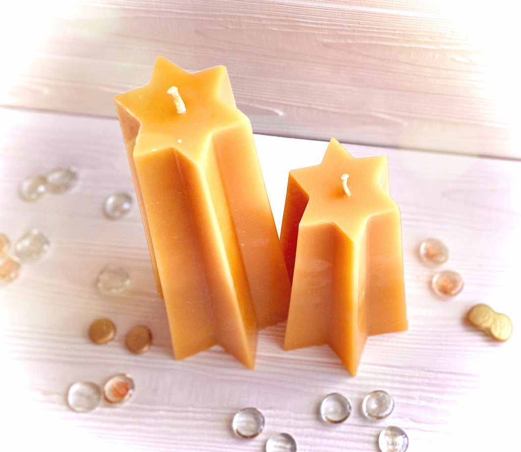 6-Point Star Candle