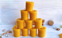 Load image into Gallery viewer, Beeswax Votives