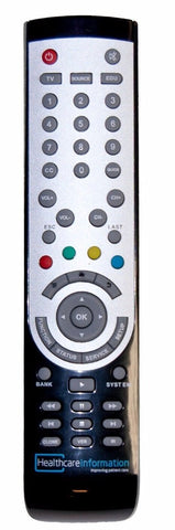 HCI Remote Control for Hospital TVs