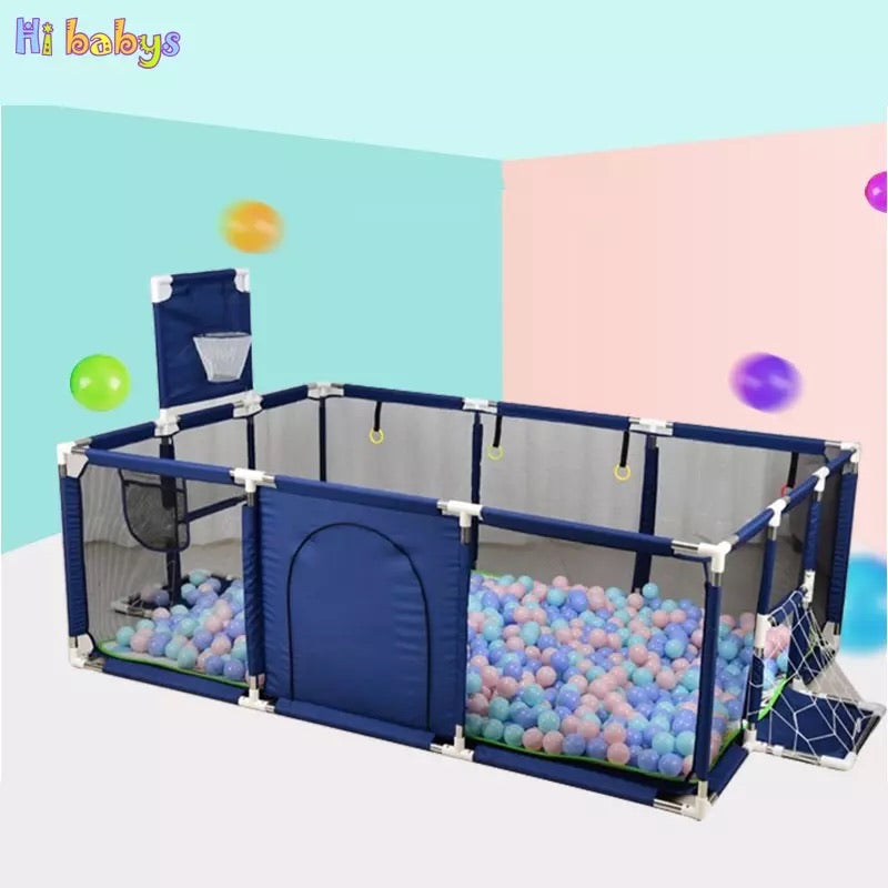 Open-Area baby playpen