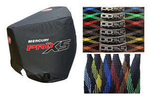 Mercury 4-Stroke Engine Covers and Trolling Motor Cable Management